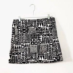 JCrew Pattern Skirt